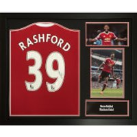 Marcus Rashford Signed And Framed Manchester United Shirt