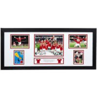 Teddy Sheringham Signed and Framed Storyboard