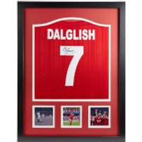 Kenny Dalglish Signed And Framed Liverpool Shirt