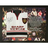 Ryan Giggs 1999 Signed and Framed Semi Final Shirt