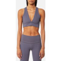 Varley Womens Brooks Crop Top - Slate Blue - XS - Blue