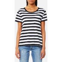 Levis Womens The Perfect Pocket T-Shirt - Wanderer White/Navy Blazer - M