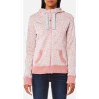 Superdry Womens Storm Zip Hoody - 90s Rose Snowy - XS - Pink