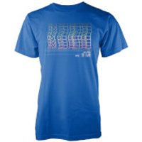Im So Retro Mens Blue T Shirt - S - Blue