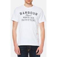 Barbour Mens Barnstaple T-Shirt - White - XL - White