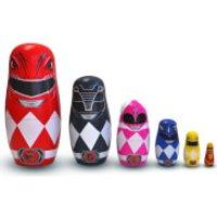 Power Rangers Wooden Nesting Dolls - Power Rangers Gifts
