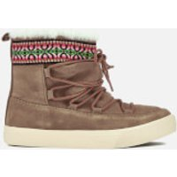 TOMS Women's Alpine Waterproof Suede Sheepskin Boots - Toffee - UK 3/US 5 - Tan