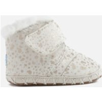 TOMS Babies' Cuna Layette Snow Spots Boots - Gold Foil - UK 2/US 3 Baby - Cream