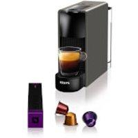 Nespresso by KRUPS XN110B40 Essenza Mini Coffee Machine - Intense Grey