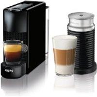 Nespresso by KRUPS XN111840 Essenza Mini Black Bundle