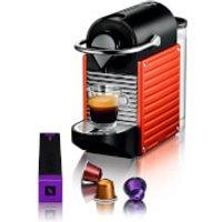Nespresso by KRUPS XN300640 Pixie Coffee Machine - Red