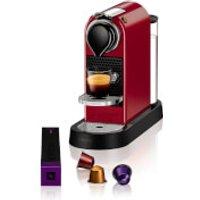Nespresso by KRUPS XN740B40 Citiz Coffee Machine - Cherry Red - Nespresso Gifts