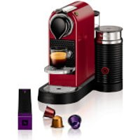 Nespresso by KRUPS XN760540 Citiz & Milk Coffee Machine - Red - Nespresso Gifts
