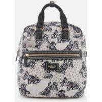Radley Womens Folk Dog Medium Ziptop Backpack - Chalk