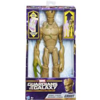 Marvel Guardians of the Galaxy Titan Hero: Deluxe Growing Groot - Growing Gifts