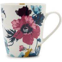 Joules Single Bone China Mug - Cream Poppy Posy - China Gifts