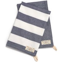 Joules Classic Tea Towel - 2 Pack - French Navy Stripe