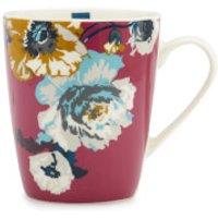 Joules Single Bone China Mug - Ruby Poppy Posy - China Gifts