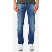 Nudie Jeans Mens Lean Dean Slim Jeans - Highlights - W30/L32 - Blue
