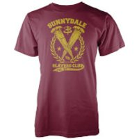 Buffy The Vampire Slayer Sunnydale Slayers Club T-Shirt - M - Burgundy