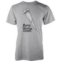 Buffy The Vampire Slayer Slayer Stake T-Shirt - XXL - Grey - Vampire Gifts