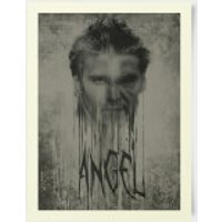 Buffy The Vampire Slayer Angel Stylised 30x40cm Print - Vampire Gifts