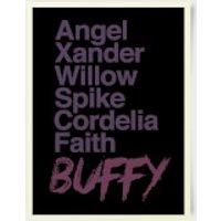 Buffy The Vampire Slayer Character 30x40cm Print - Vampire Gifts