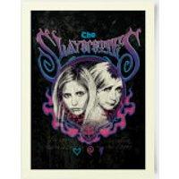 Buffy The Vampire Slayer The Slayerettes 30x40cm Print - Vampire Gifts