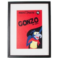 Disney Gonzo Gallery Framed Printed Wall Art