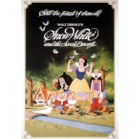 Disney Snow White 1983 Printed Canvas Wall Art - Snow White Gifts