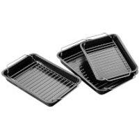 Premier Housewares Roasting Trays (Set of 3)