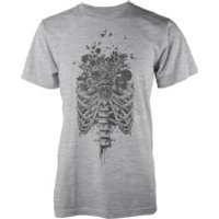 Balazs Solti New Life Grey T-Shirt - S - White