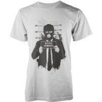 Balazs Solti Mugshot White T-Shirt - L - White