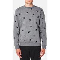 McQ Alexander McQueen Men's Swallow Sweatshirt - Stone Grey Melange - XS - Grey