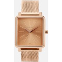 Nixon Womens The K Squared Milanese Watch - Rose Gold
