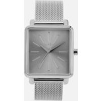 Nixon Womens The K Squared Milanese Watch - Silver