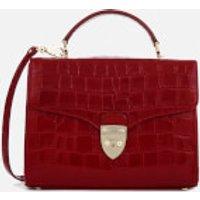Aspinal of London Womens Mayfair Cross Body Bag - Red
