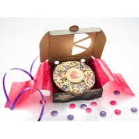 The Gourmet Chocolate Pizza Magical Unicorn 4 Inch Pizza - Gourmet Gifts