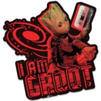 Marvel Guardians of the Galaxy I am Groot (Mix Tape) Wall Art - Guardians Of The Galaxy Gifts