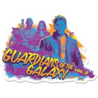 Marvel Guardians of the Galaxy Guitar Wall Art - Music Gifts