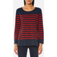 Maison Scotch Women's Breton T-Shirt - Combo B - XS - Blue