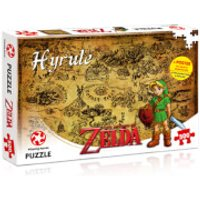 500 Piece Jigsaw Puzzle - Zelda Hyrule Field Edition - Jigsaw Puzzle Gifts