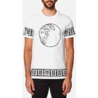Versace Collection Mens T-Shirt - Bianco Lana - L - White