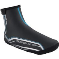 Shimano S2000D 2mm Neoprene Overshoes with BCF and PU Coating - Black - S - Black