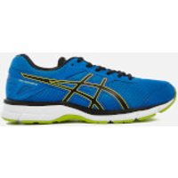 Asics Running Mens Gel Galaxy 9 Trainers - Directoire Blue/Energy Green - UK 8 - Blue
