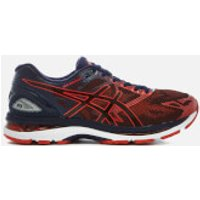 Asics Running Men's Gel Nimbus 19 Trainers - Peacoat/Red Clay/Peacoat - UK 7 - Blue