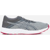 Asics Womens Fuze X Lyte 2 Trainers - Mid Grey/Carbon/Cosmo Pink - UK 6 - Grey