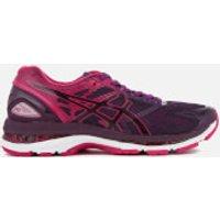 Asics Womens Gel Nimbus 19 Trainers - Black/Cosmo Pink/Winter Bloom - UK 5 - Pink