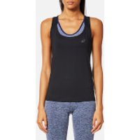 Asics Womens Fitted Tank Top - Performance Black - S - Black