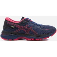 Asics Running Womens Gel Cumulus 19 GTX Winter Running Trainers - Indigo Blue/Black/Cosmo Pink - UK 3 - Blue